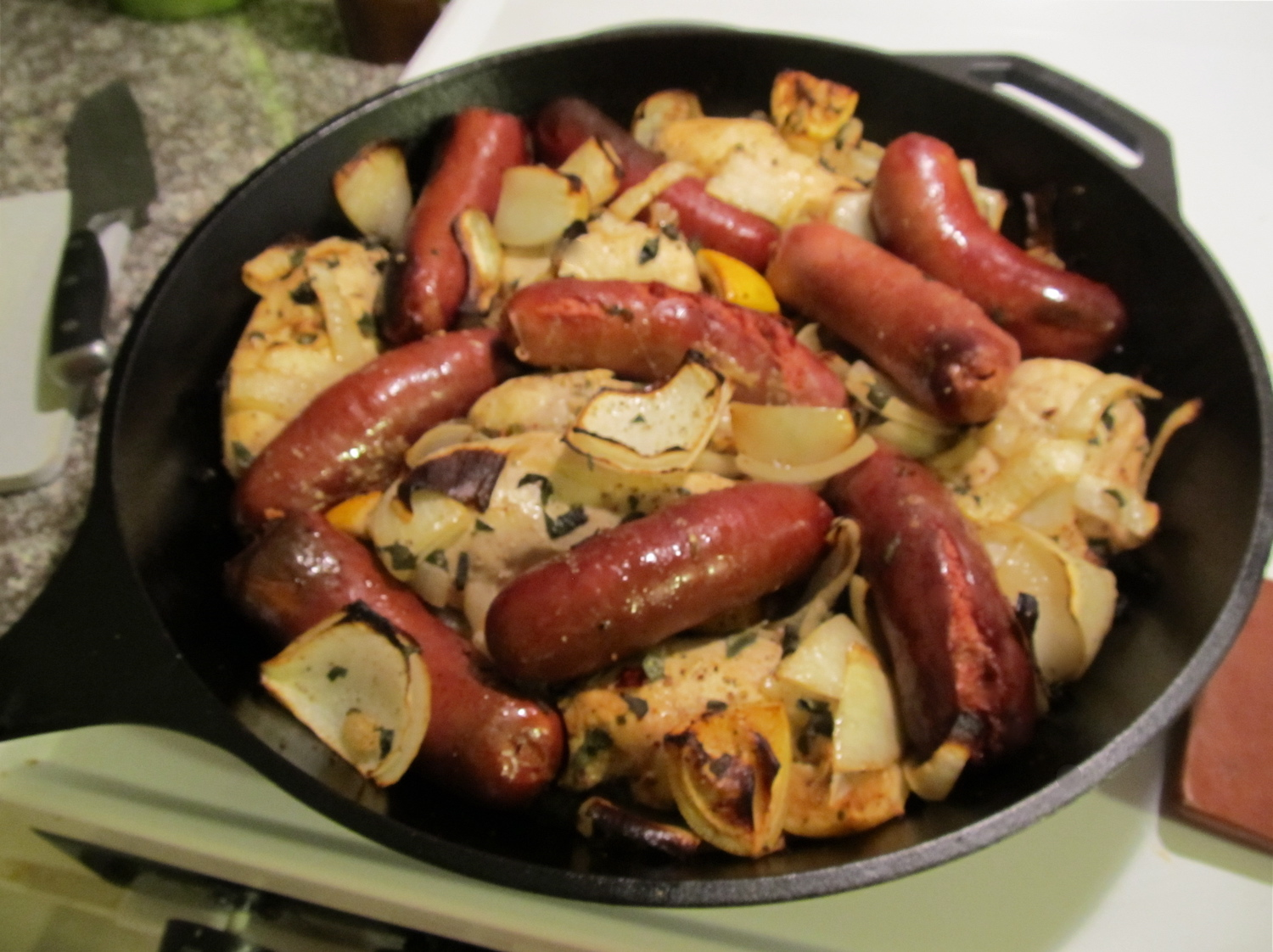 Chicken-and-Sage Sausages Recipes — Dishmaps